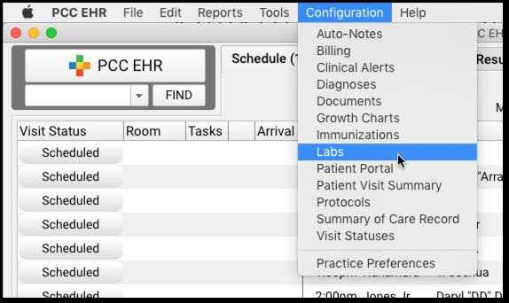 Lab Configuration - PCC Learn