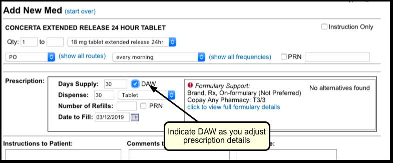 Prescribe Medications - PCC Learn